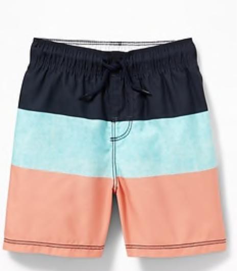 Cutie little swim trunks -