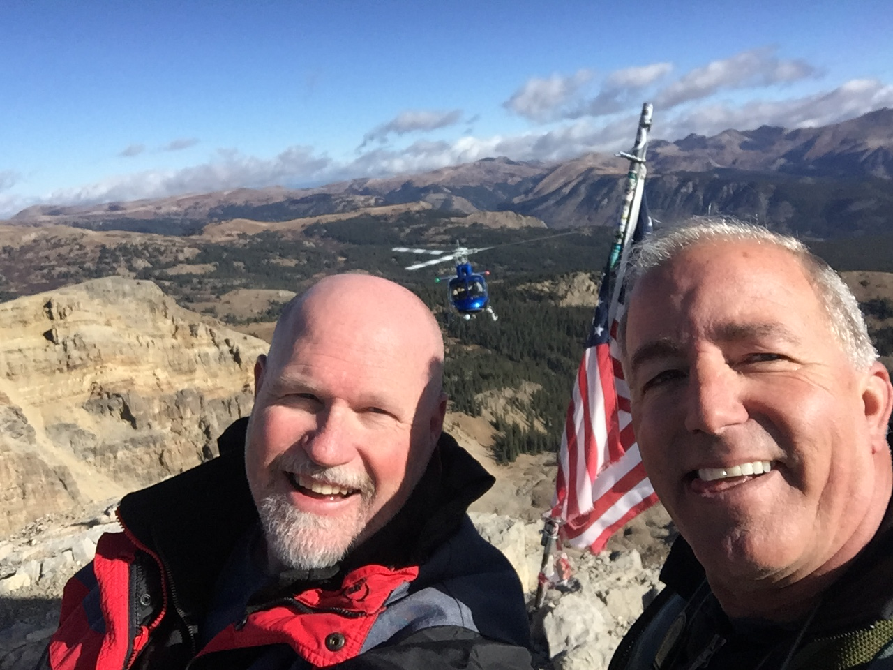 Shawn and Dan on-Location in the Rocky Mountains
