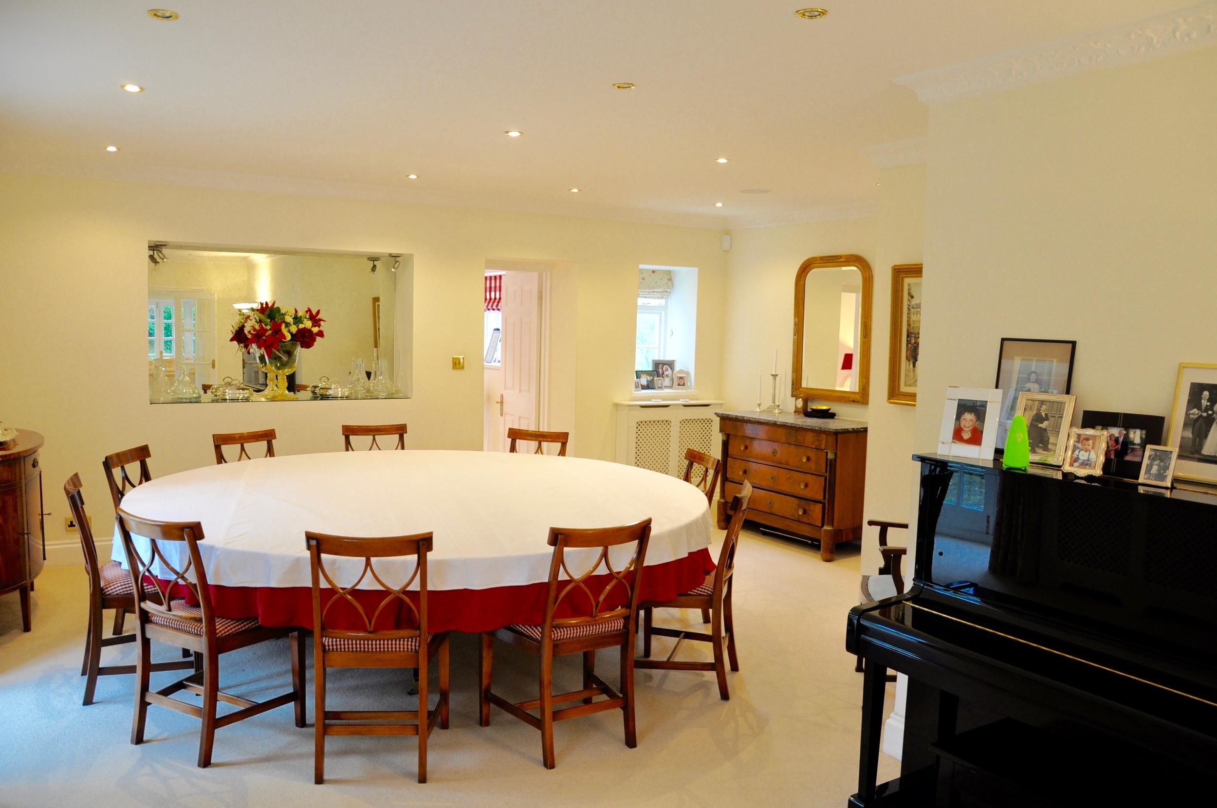 Dining room at Beggars Barn - seat 16