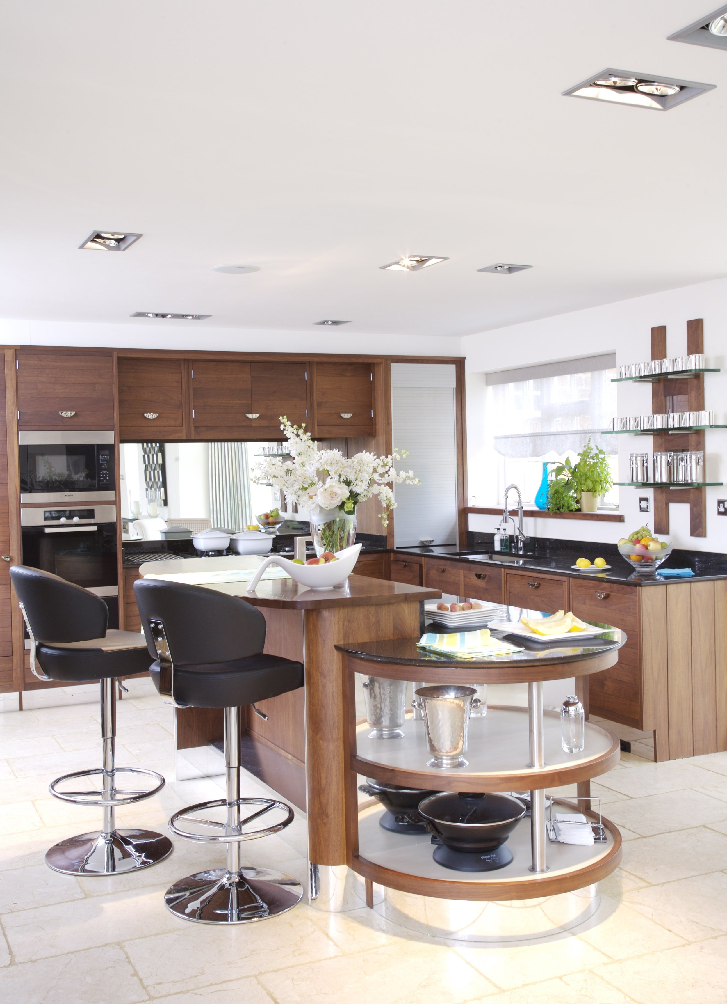 Open plan kitchen at Beggars Barn