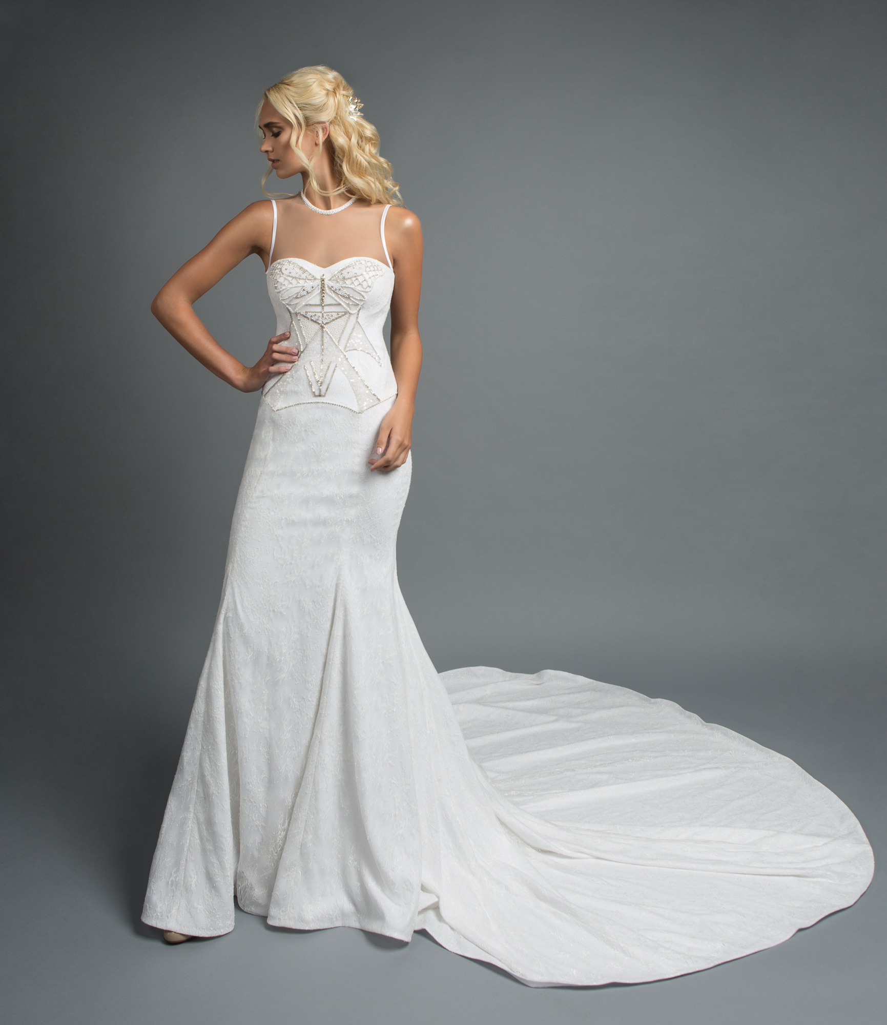Gown from Victoria Spector Bridal Couture and IVY TRIO from Kata Banko Couture