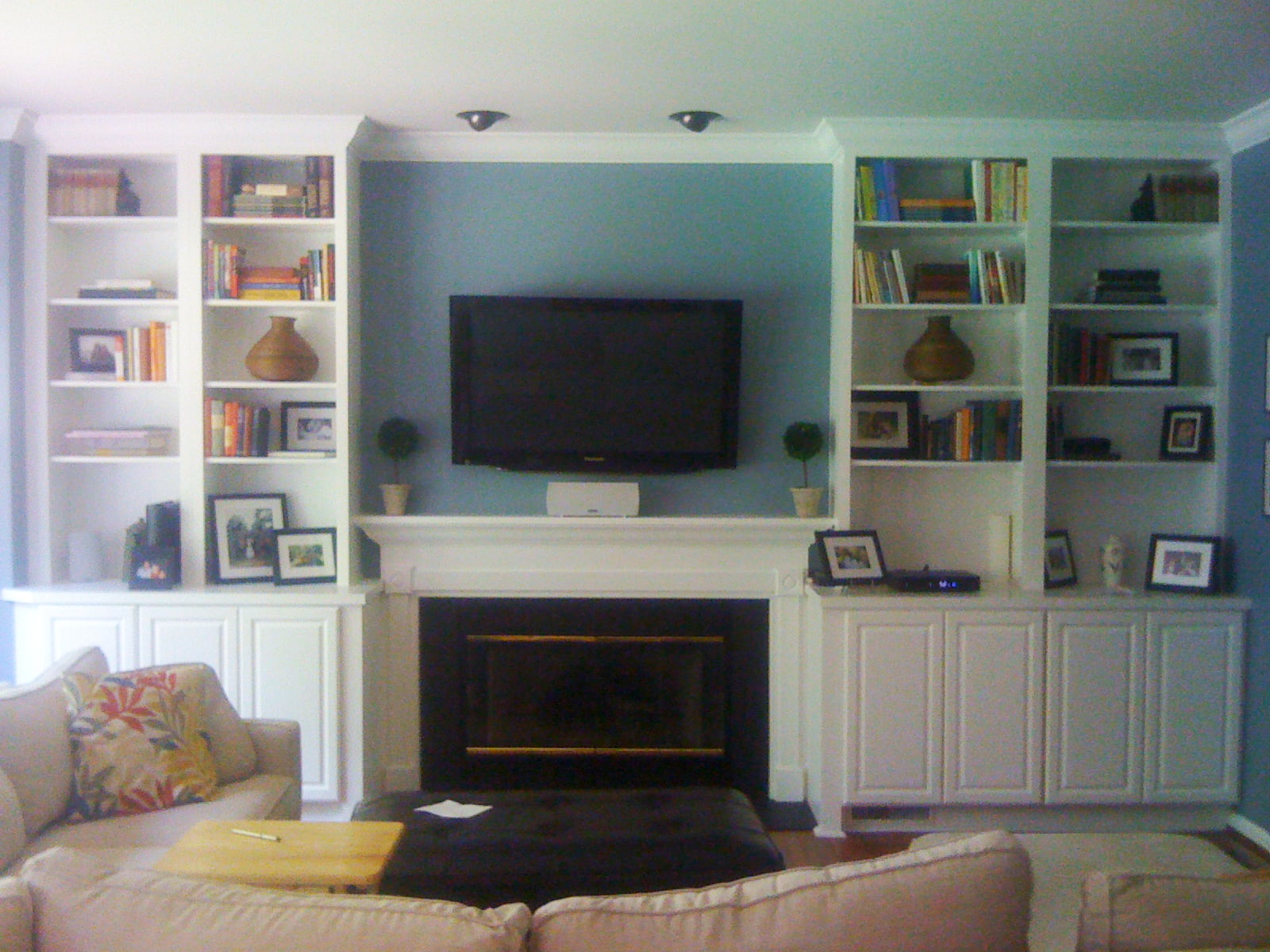 Geeting Fire Place New Look.JPG