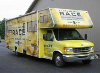 Amazing Race Vehicle Wrap