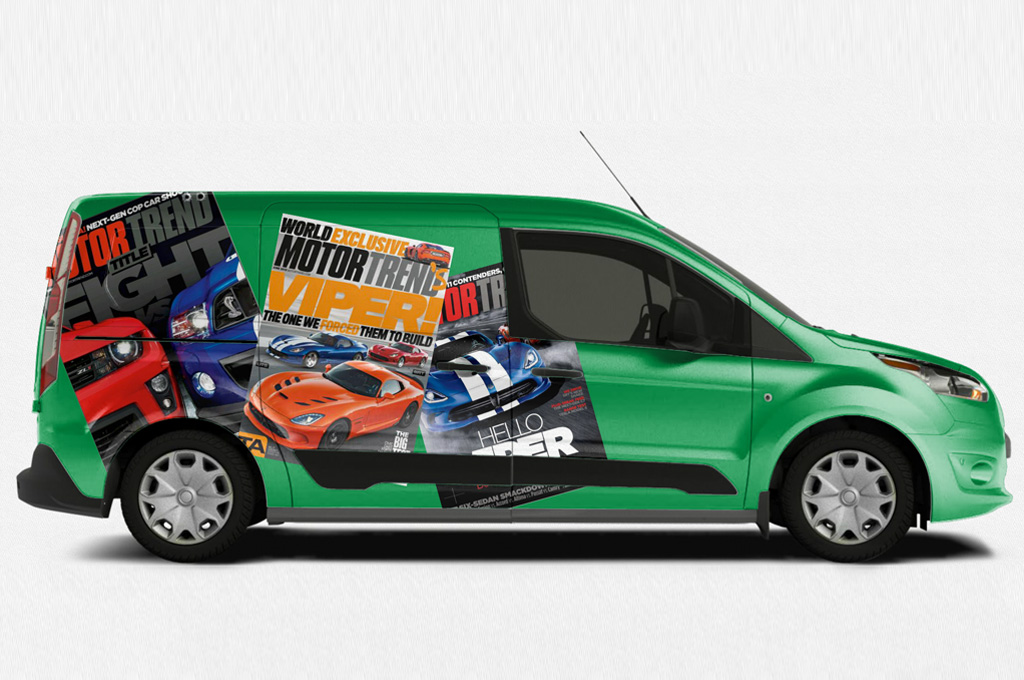 Commercial Vehicle Wrap #1