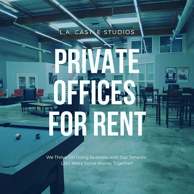 "Stunning private offices for rent. ⠀⠀⠀⠀⠀⠀⠀⠀ Fun, collaborative environment. ⠀⠀⠀⠀⠀⠀⠀⠀ Most beautiful space in Los Angeles. ⠀⠀⠀⠀⠀⠀⠀⠀ Visit the ""offices"" page on our website for details. ⠀⠀⠀⠀⠀⠀⠀⠀ We look forward to working with you!  #lacastlestudios #coworking #offices #executiveoffices #wework #la #losangeles #movieproduction #filmstudio #tvstudio #moviestudio #tvproduction #moviestudio #tvstudio #locationscout #unreal #unrealengine4 #gameengine #unrealgameengine #standingset #standingsets #productionstudio #filmproduction #hostwraps #hostwrap #talkshow #burbank #burbankca"