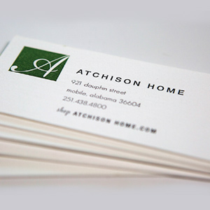 Atchison Home    brand // print