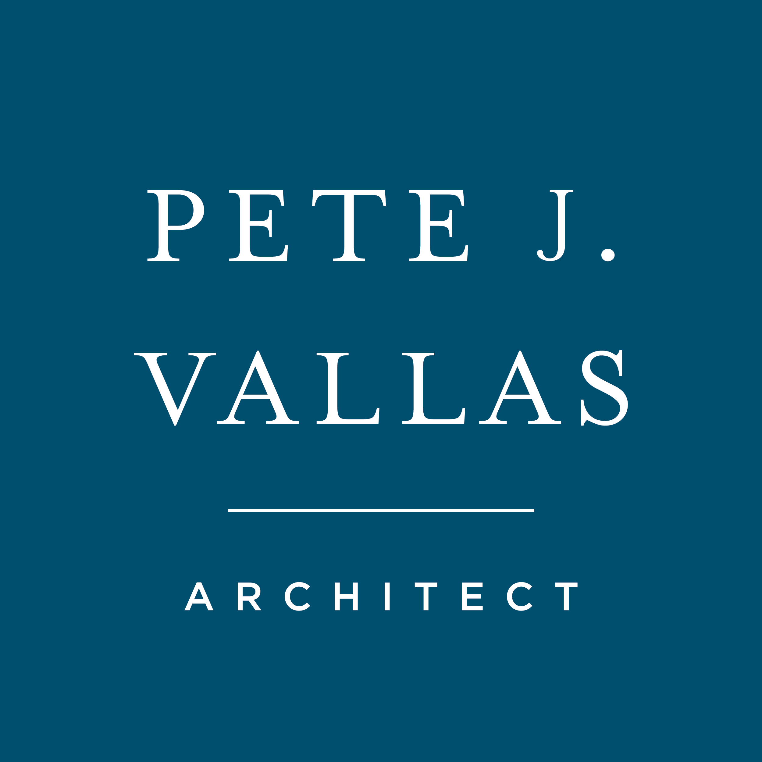 Pete J. Vallas    brand // print