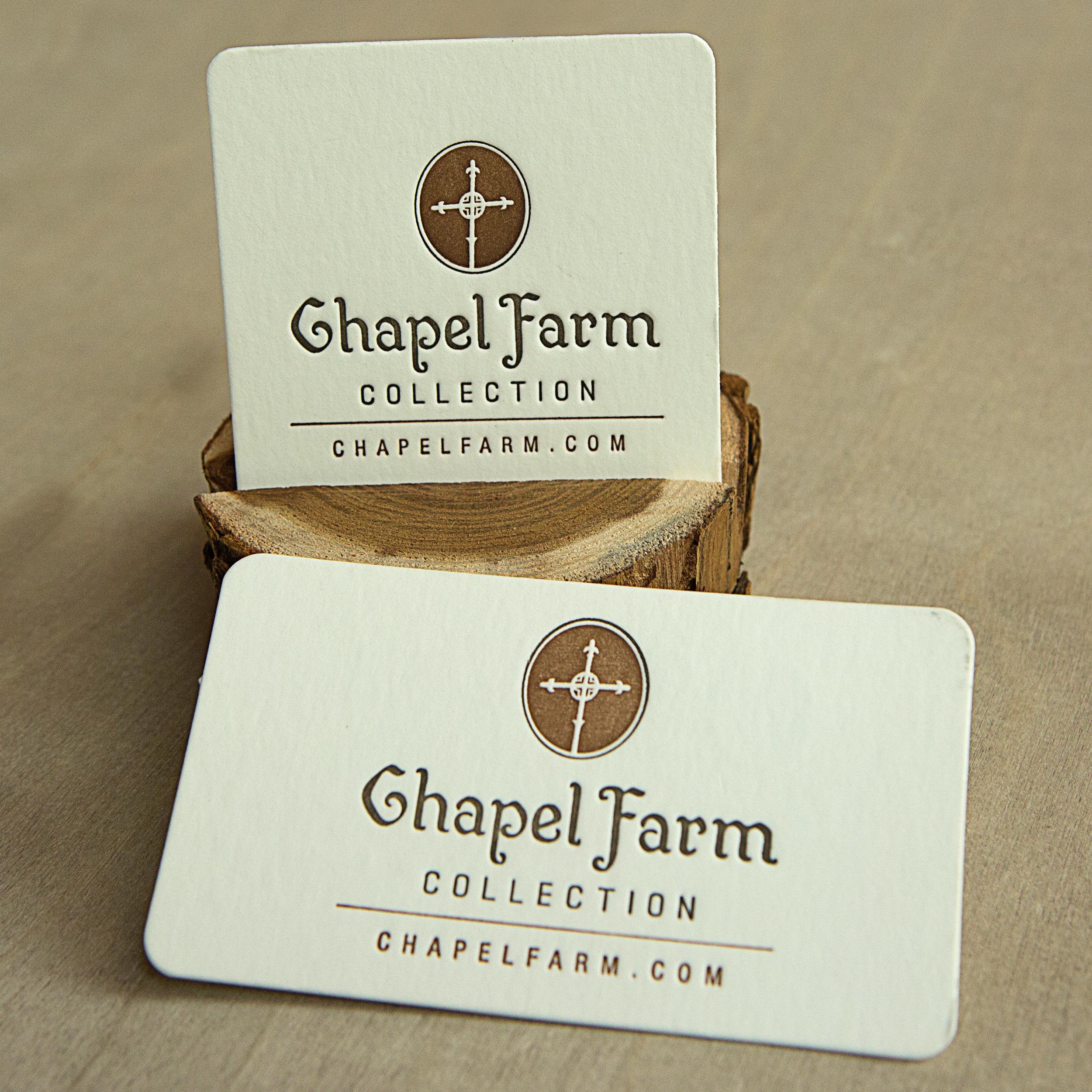 Chapel Farm Collection    brand // print