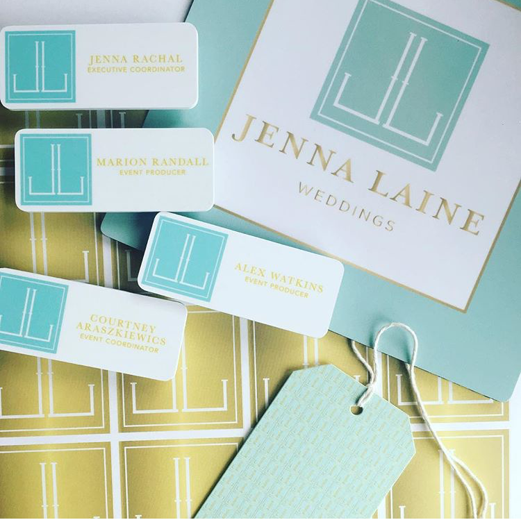 Happy clients and pretty stationery makes me happy. Love how these turned out.