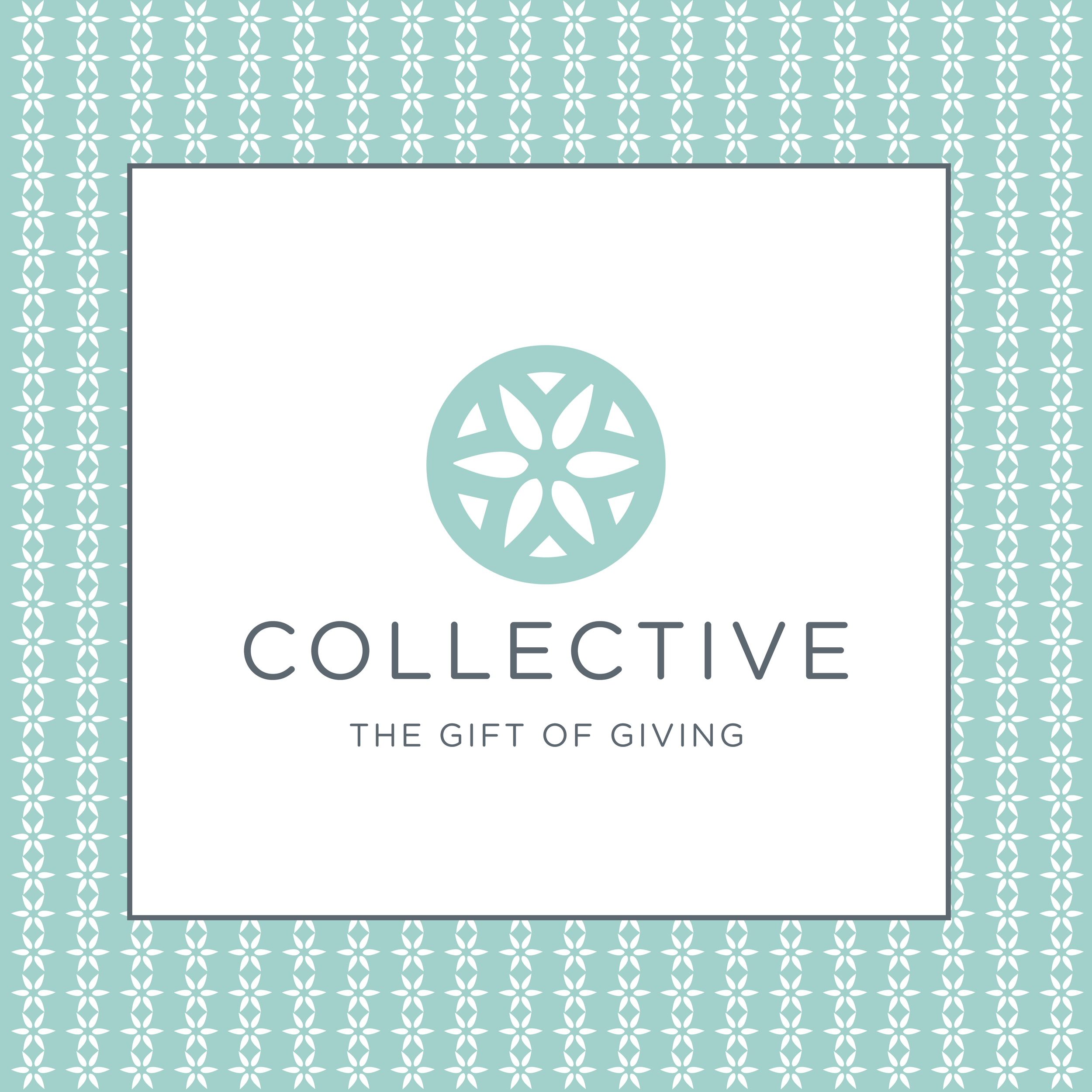 "We've been working on this rebranding for a while now, and I'm absolutely thrilled to launch the new store name and new look for the Collective. Formerly known as Carter and Company, Sarah Thomas, the store owner, was ready for a new look and new branding. We met at a local coffee shop months ago and tossed around ideas. We decided it was also the perfect time to rename the store, and to start fresh and new. The new store name came together that day, and the design quickly followed. After visiting the store, I was inspired by the beautiful medallions on either side of the store door (image below). We loved the idea of incorporating a similar design in the logo and branding.  The Collective's focus is on ""The Gift of Giving,"" and Sarah's store truly has the perfect gifts for ALL ages. Everything about the Collective and Sarah's style is fabulous—you just walk in and you're immediately in a better mood. Every time I visit, I'm amazed at the new inventory. It just keeps getting better and better...  The Collective is connected to the Holiday Place in the heart of Spring Hill. Definitely a must-see in Mobile and Spring Hill."