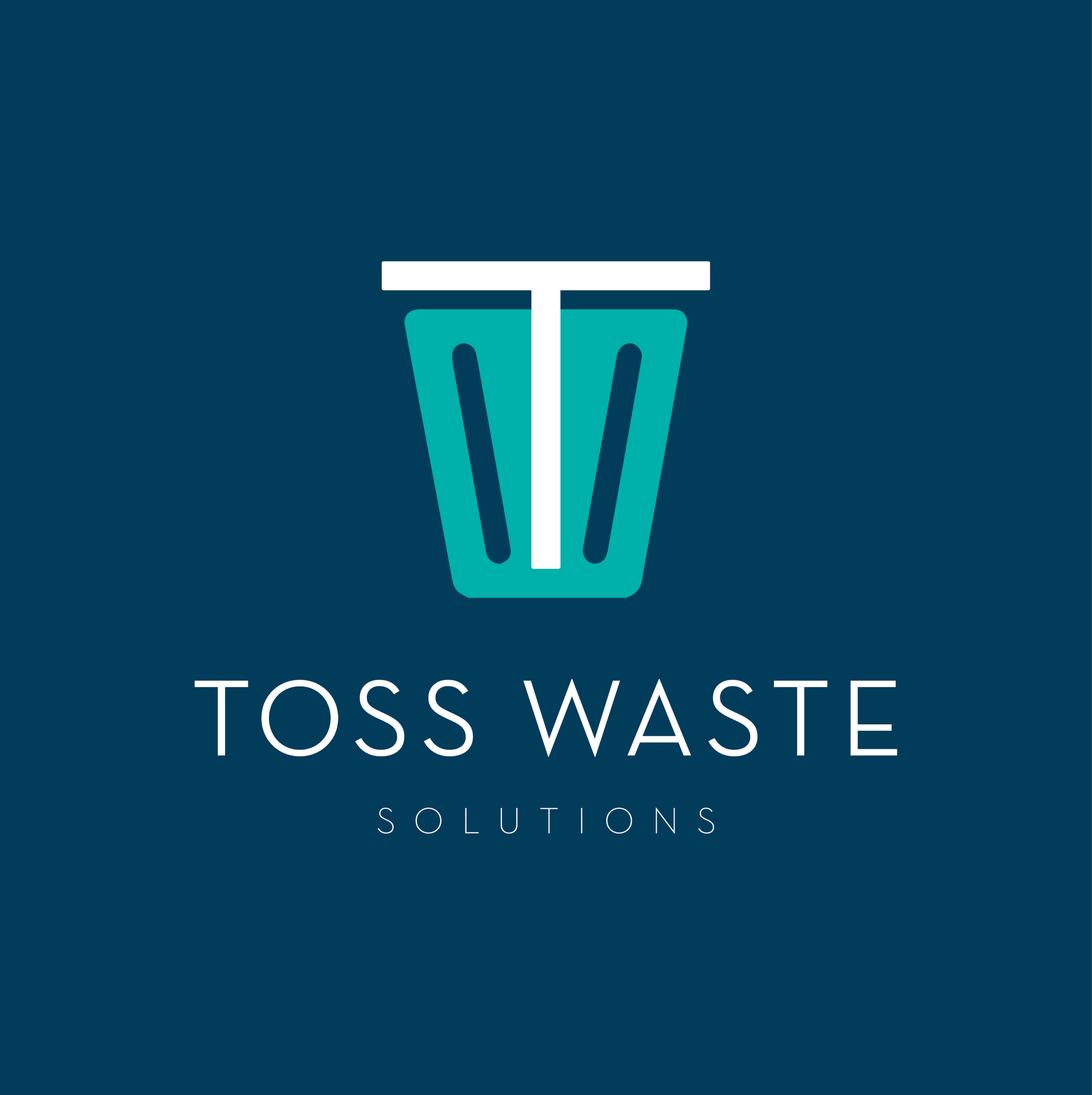 T  oss Waste Solutions    brand // print