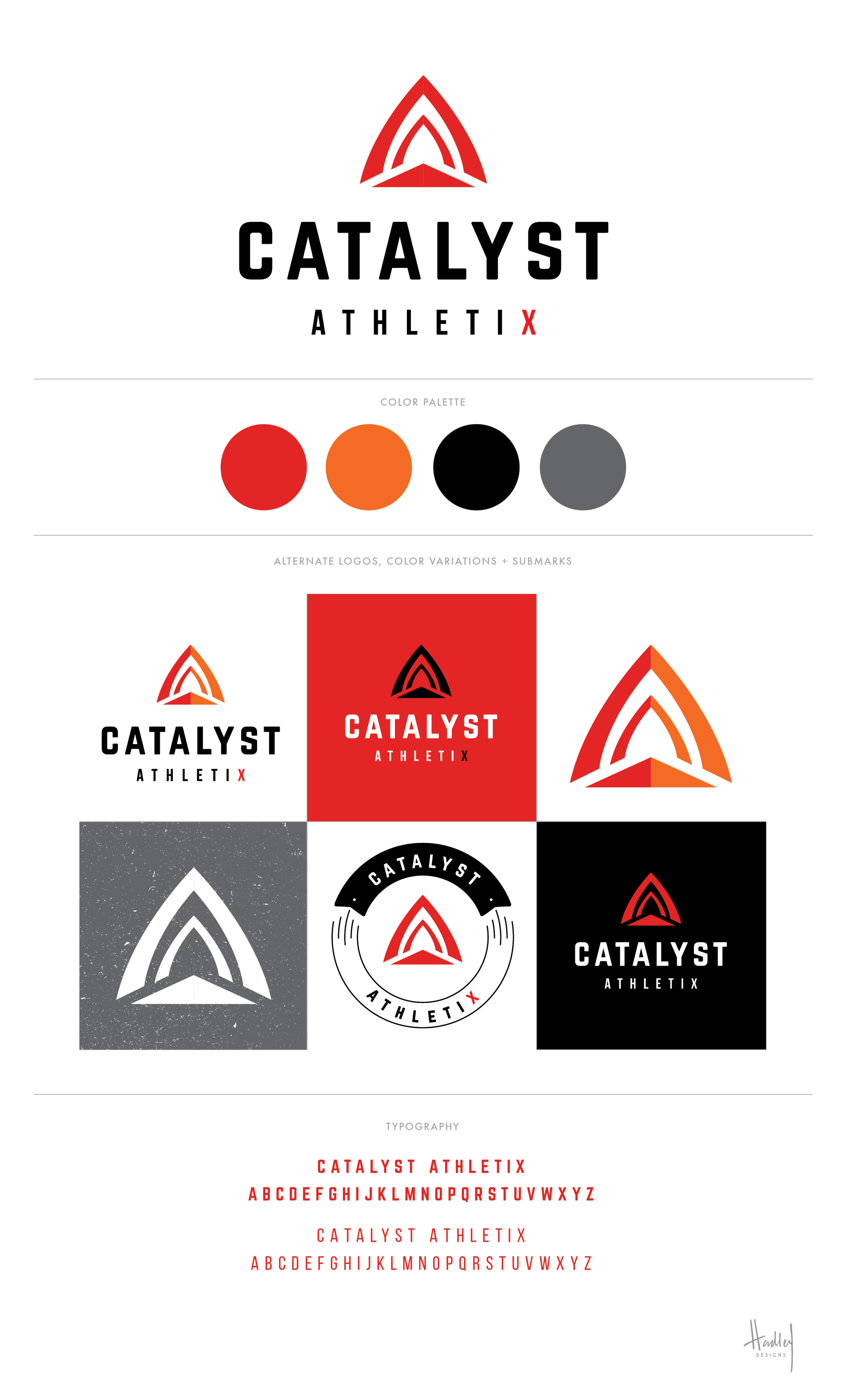 A lotta love went into this new brand for Catalyst Athletix Ministry. Their mission is to use sports as a means to embody and extend the love of Jesus to at-risk youth. Very honored to be a part of this!
