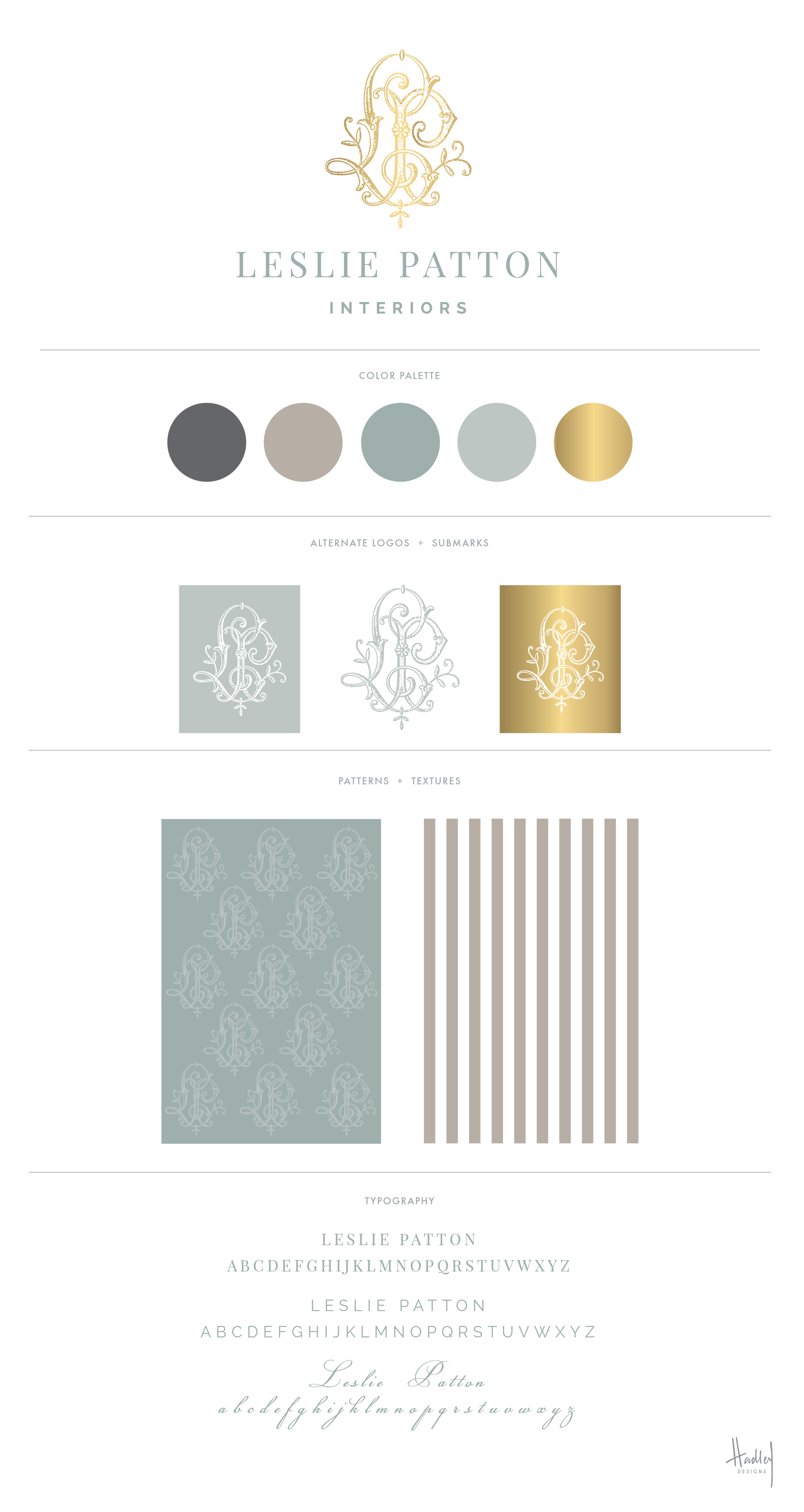 New branding and stationery for the talented Leslie Patton Interiors, located in Jackson, Tennessee. Leslie is an absolute JOY to work with, and I can't wait to get my hands on these printed pieces very soon.New website in the works! Stay tuned...