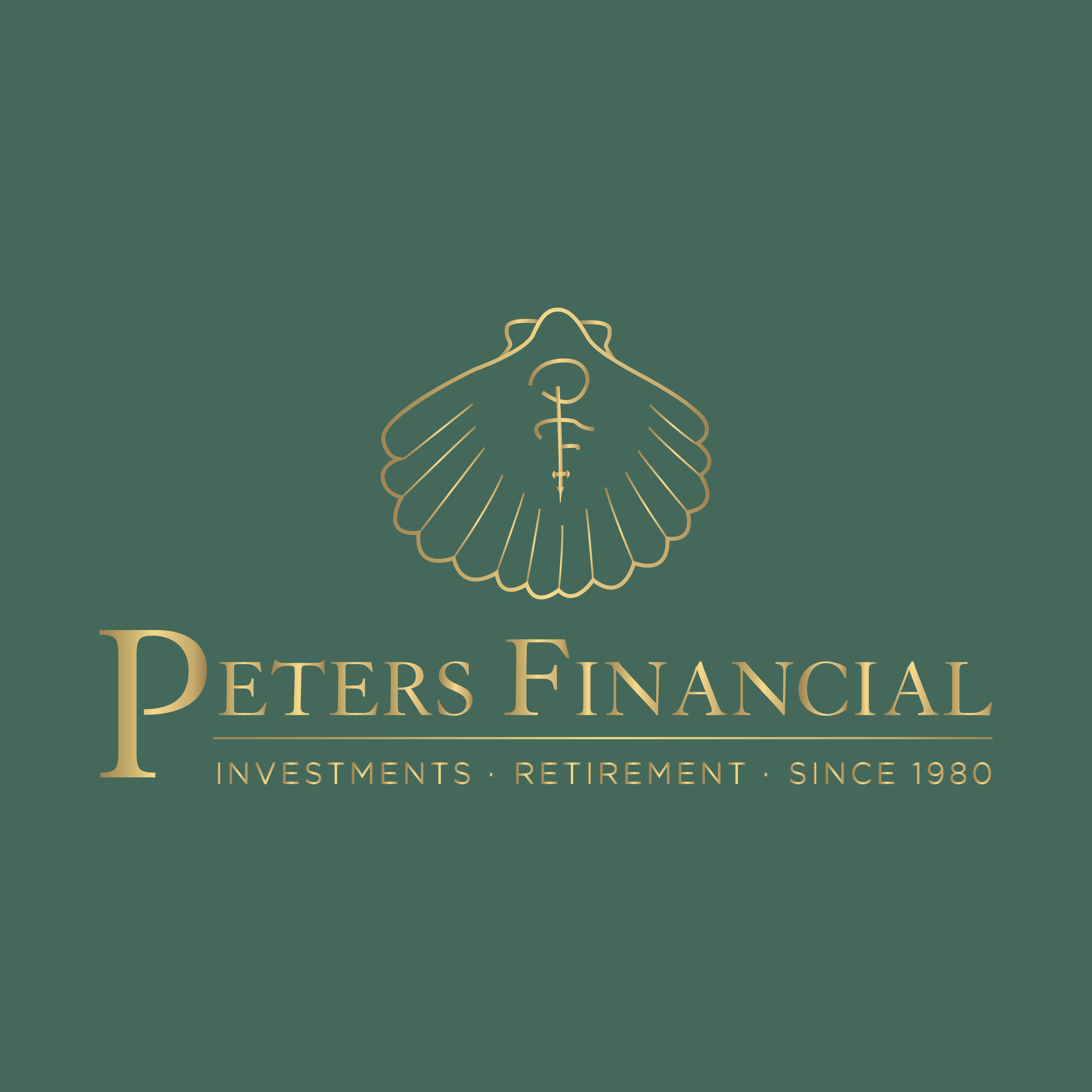 P  eter's Financial    brand // print