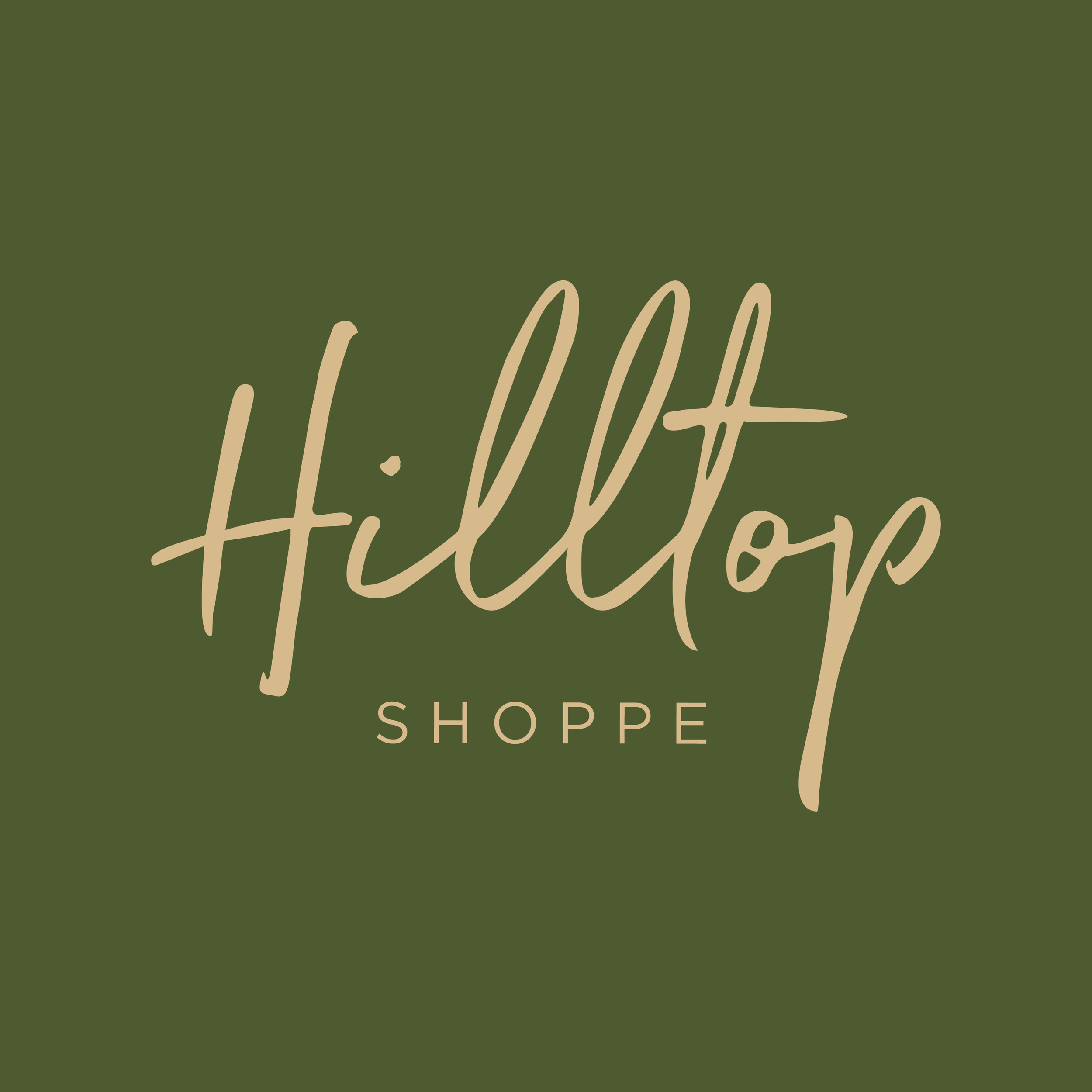 Hilltop Shoppe    brand // print