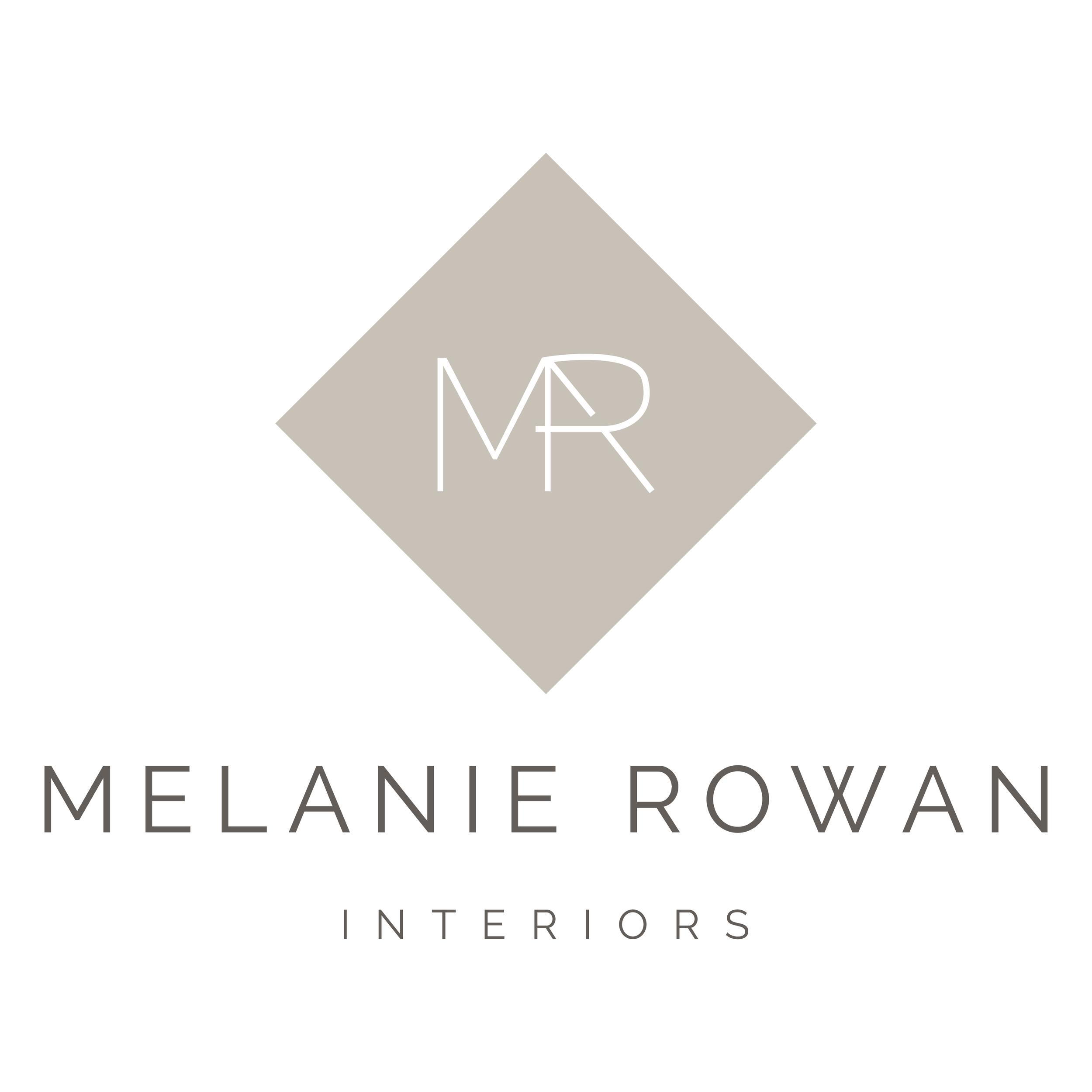 Melanie Rowan Interiors    brand // print