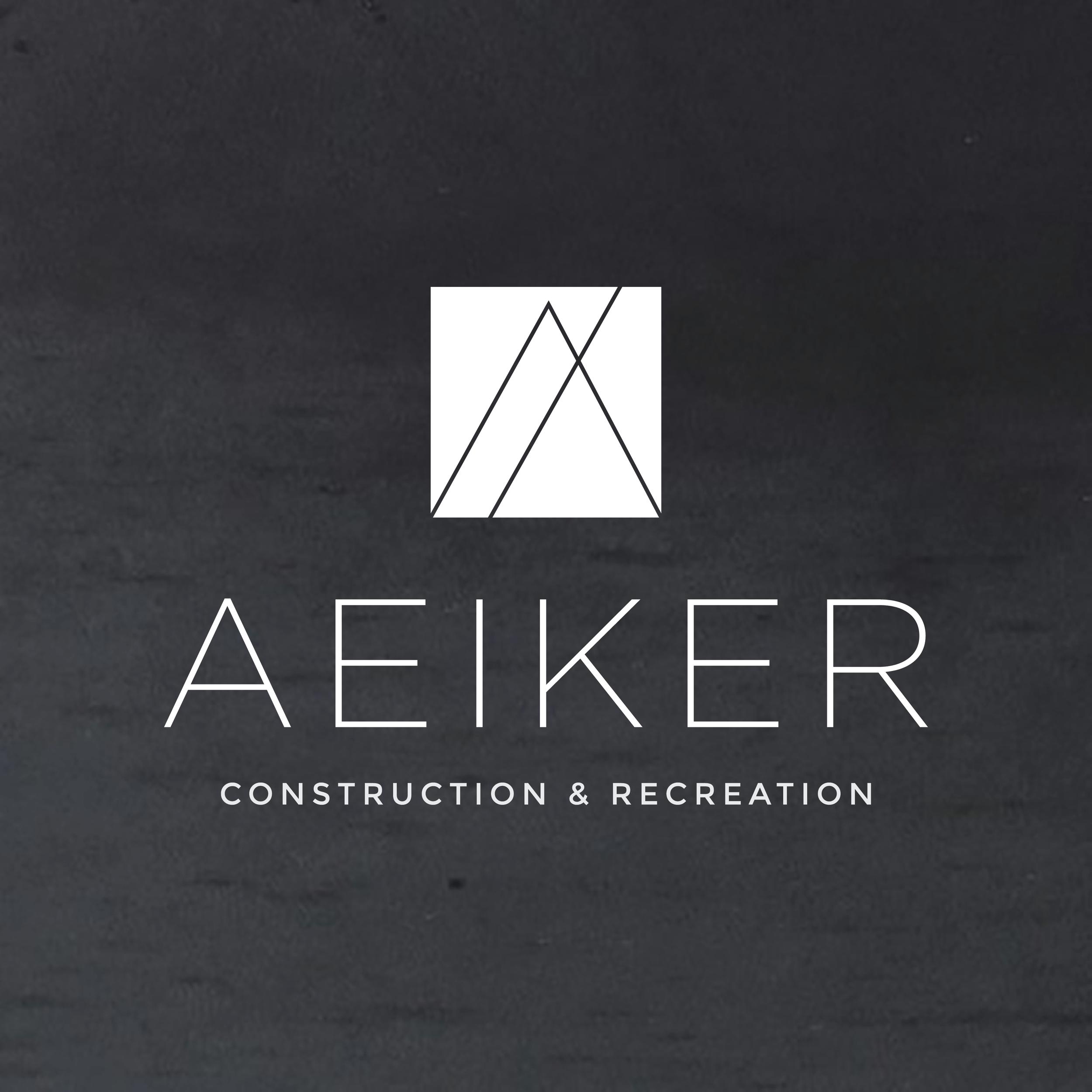 A  e  iker Construction & Recreation    b  rand