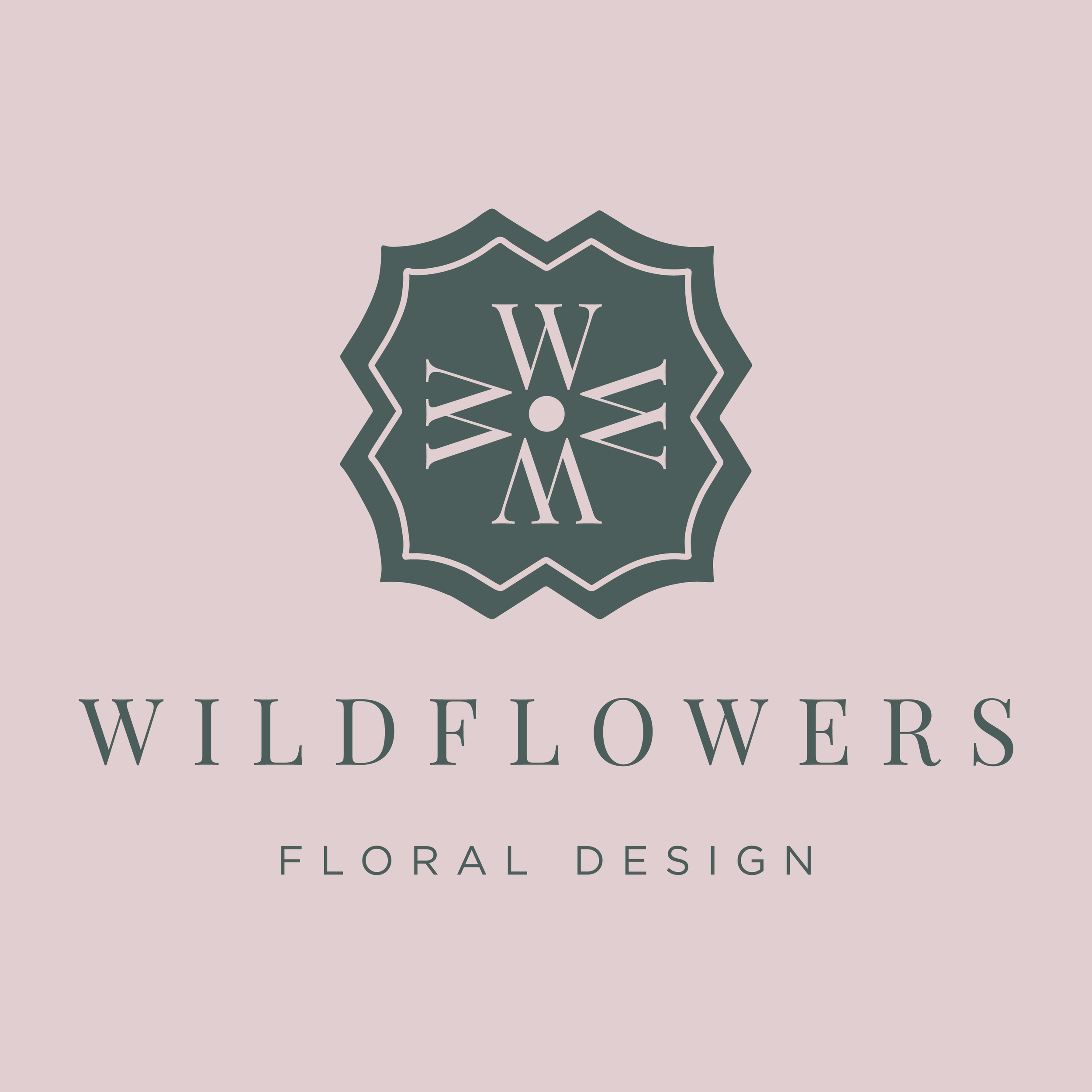 Wildflowers Floral Design    brand // print