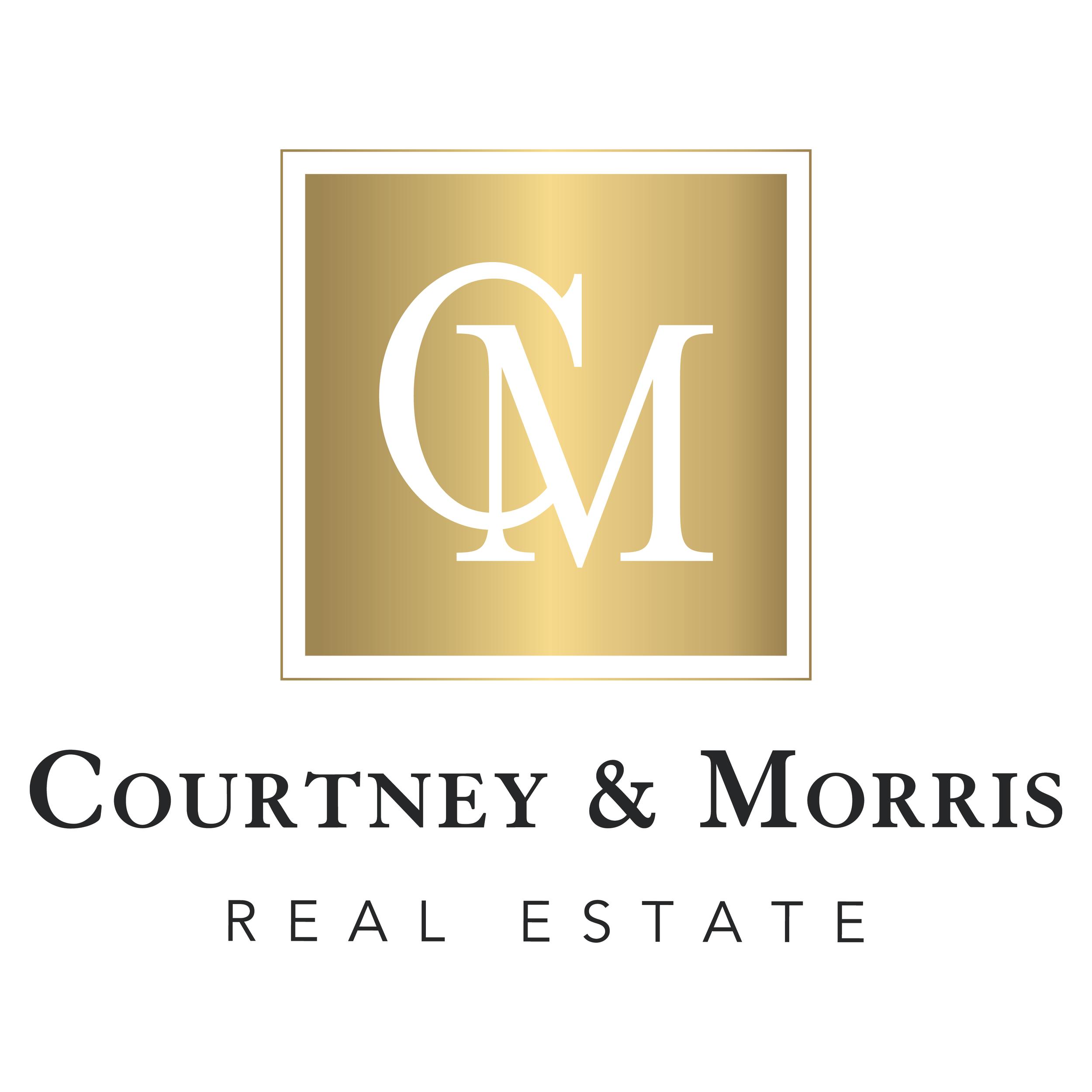 C  ourtney & Morris    branding + print