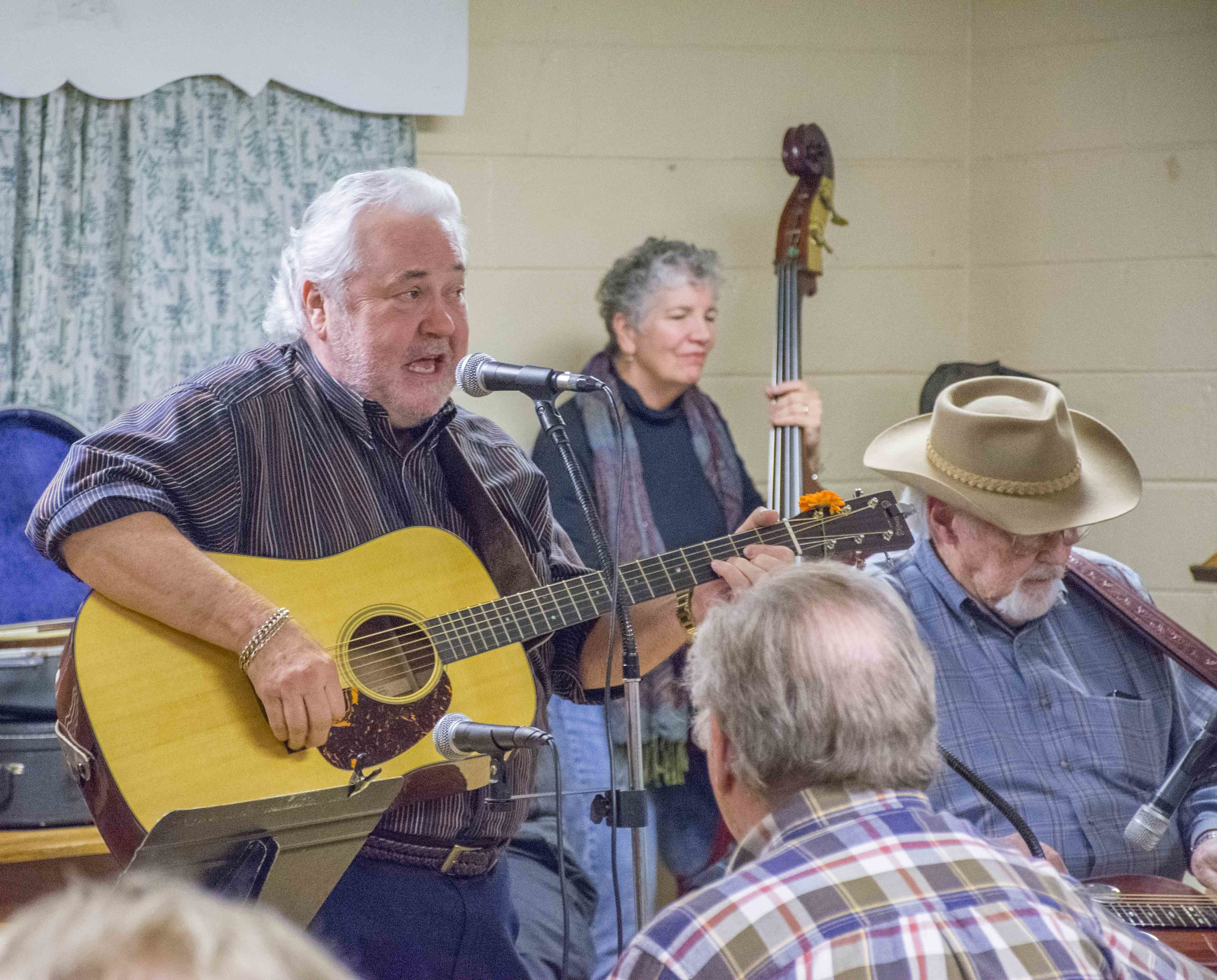 Mike Fleming at Cedar Grove Community Center -  click to enlarge