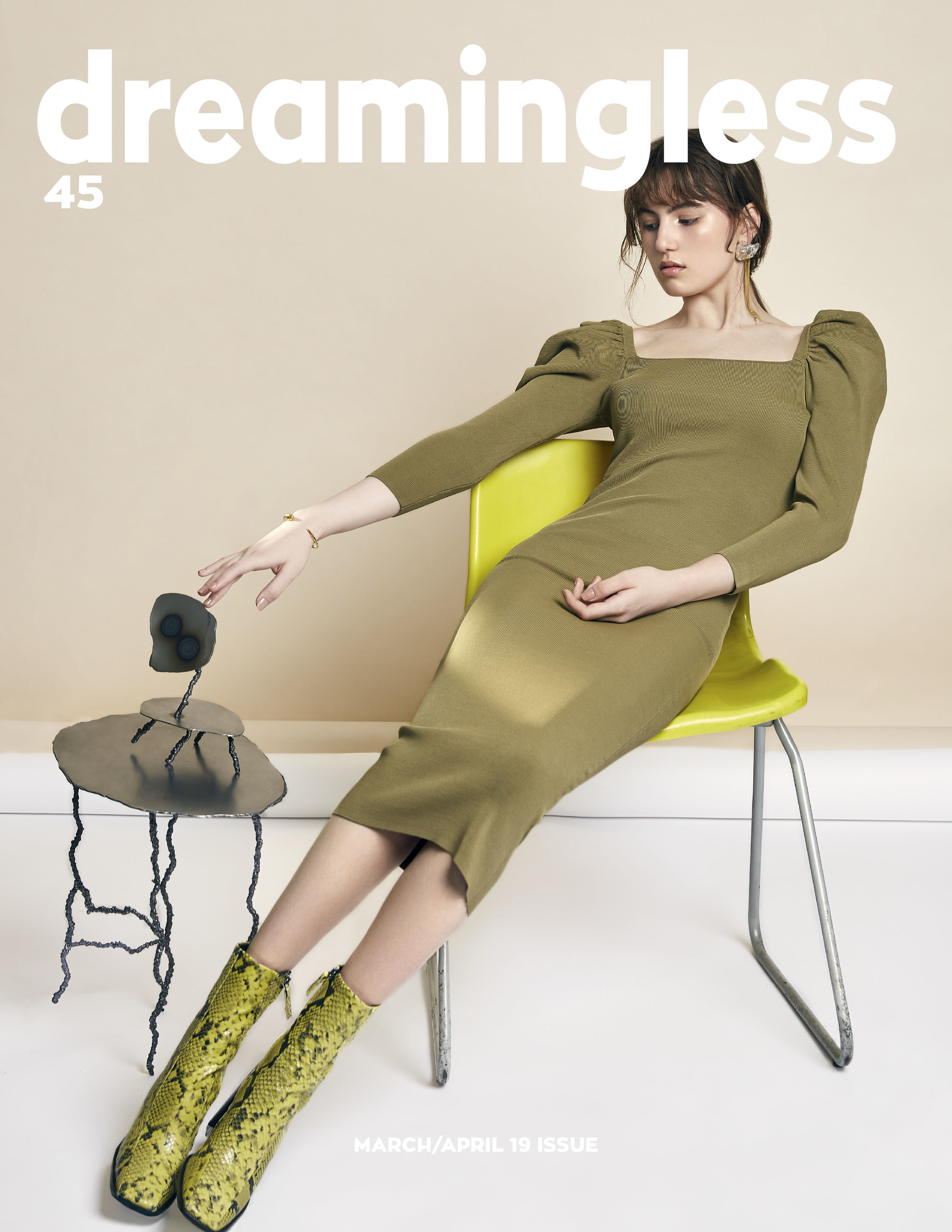 As seen in a fashion editorial for Dreamingless Magazine.  Photo courtesy of Han Yang (www.yanghan-photo.com)