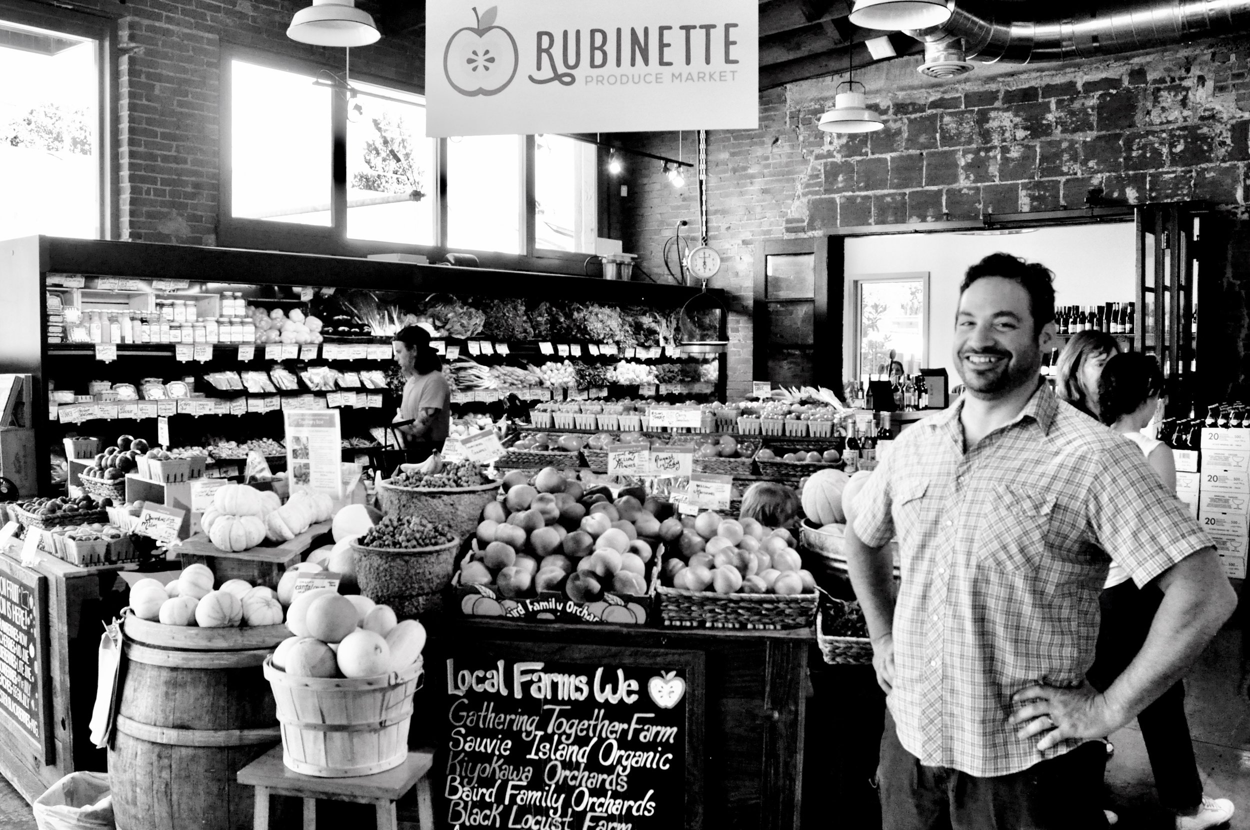 Josh Alsberg |  Rubinette Produce Market  in the Shore.
