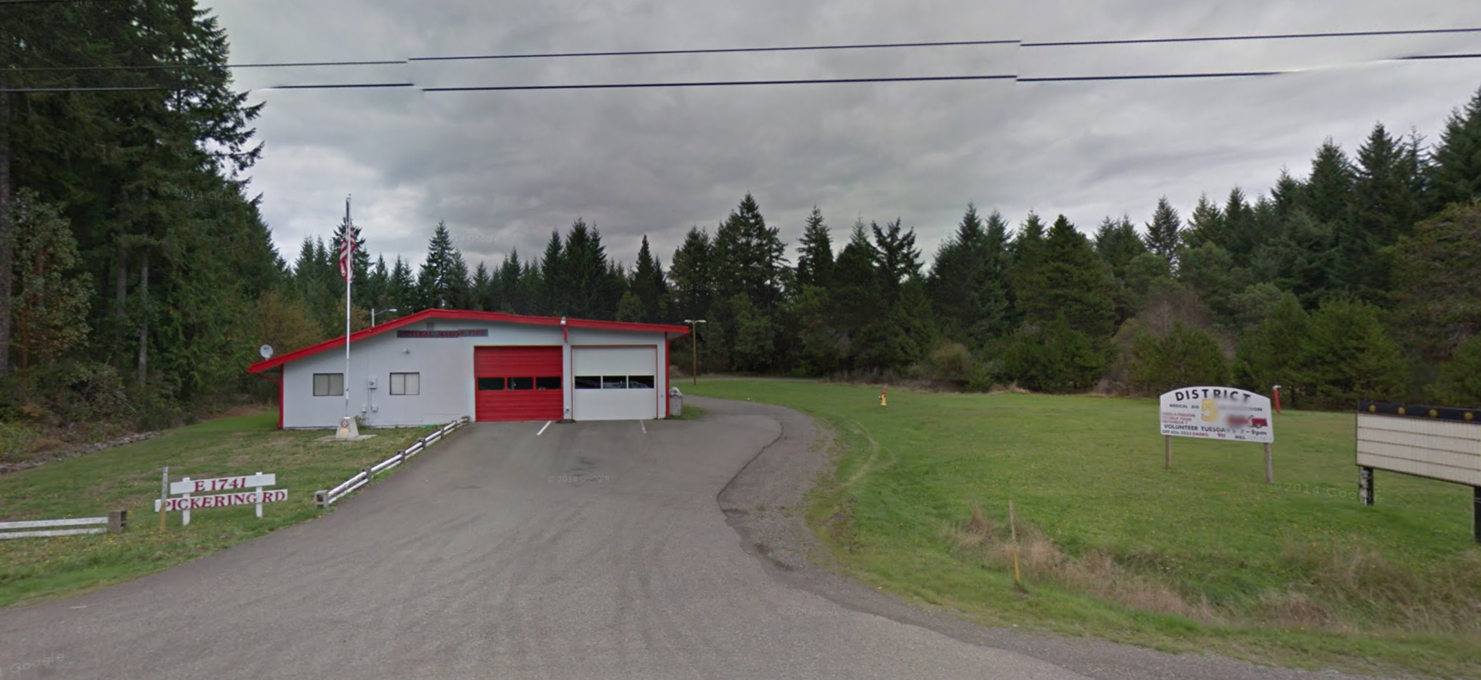 Station 5-7 - Spencer Lake Fire Station  1741 E Pickering Rd, Shelton WA