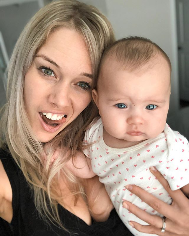 Today was SCARY 😭😭😭⠀ ⠀ Ok you guys personal post. But today was probably the most stressful in my parenting career so far (short I know but we all start somewhere 🤷🏼♀️) ⠀ ⠀ Aria rolled over last night and then started crying hysterically.⠀ ⠀ We noticed that she wasn't moving her left arm. ⠀ ⠀ We thought maybe it wasn't anything serious is she fell asleep not long after we calmed her down. ⠀ ⠀ This morning still no arm movement at all. Yet the other arm grabbed everything in sight (including mums hair 😅) ⠀ ⠀ After bouncing from doctors all day we finally saw she has a tiny break in her collar bone on her X-ray. ⠀ ⠀ Oh my gosh I can't actually believe this happened 🤦🏼♀️🙈 ⠀ ⠀ It's probably not a huge deal in the long scheme of things but today it was! ⠀ ⠀ Poor little nugget is taking it like a trooper, sling and all! Still all smiles.  Meanwhile I'm dying inside 😅 ⠀ I can only imagine all the stories of kiddies hurting themselves out there. Any parents wanna share??