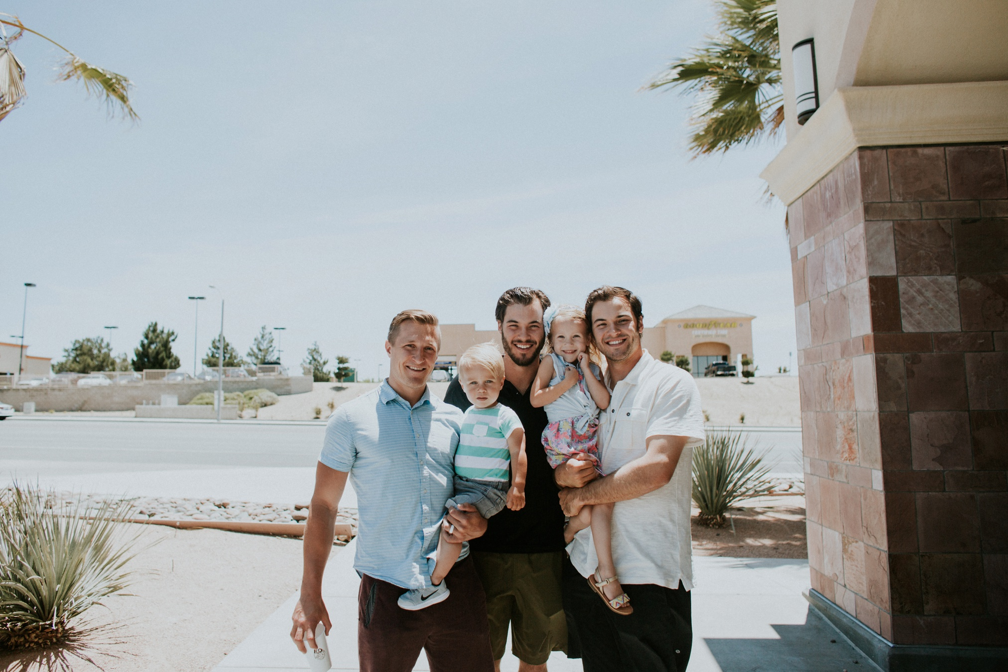 This day was not well documented for the morning. Getting out of Las Vegas was rough. But stopping 4 hours into driving, hitting Victorville, CA to see these two was worth getting the camera back out! :)