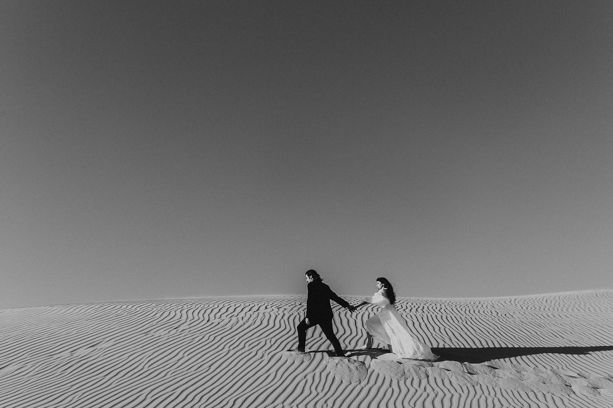 Sand Dunes Elopement Photography