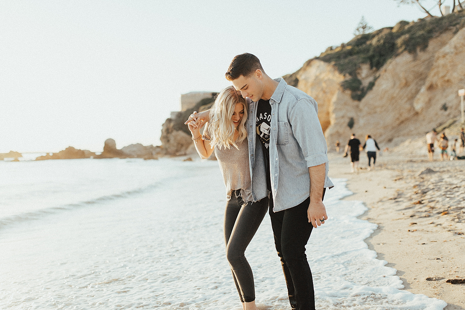 Little Corona Del Mar Engagement Photography