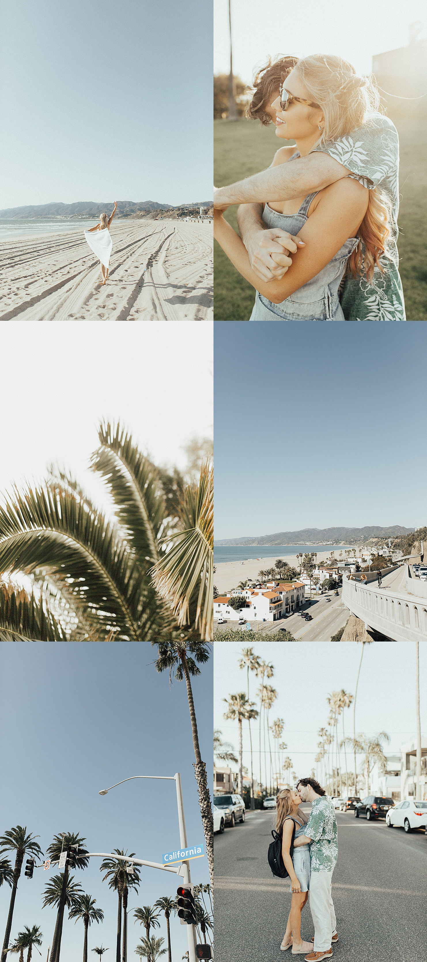 Santa Monica Engagement Shoot Location in SoCal