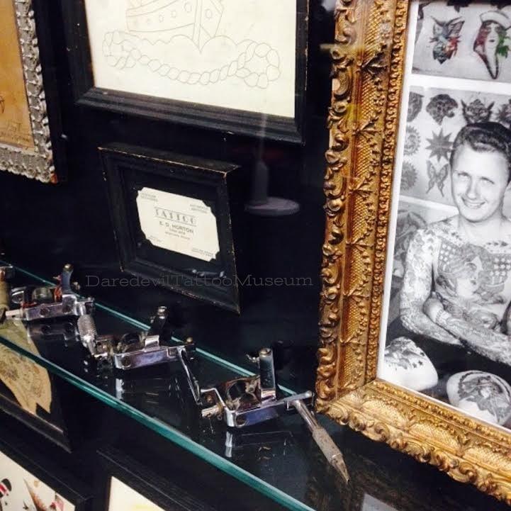 E.D. Horton tattoo machines