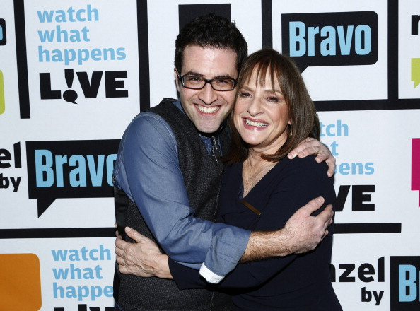 Ben Rimalower and Patti LuPone on WATCH WHAT HAPPENS LIVE Photo by: Peter Kramer/Bravo/NBCU 2013 Bravo Media LLC