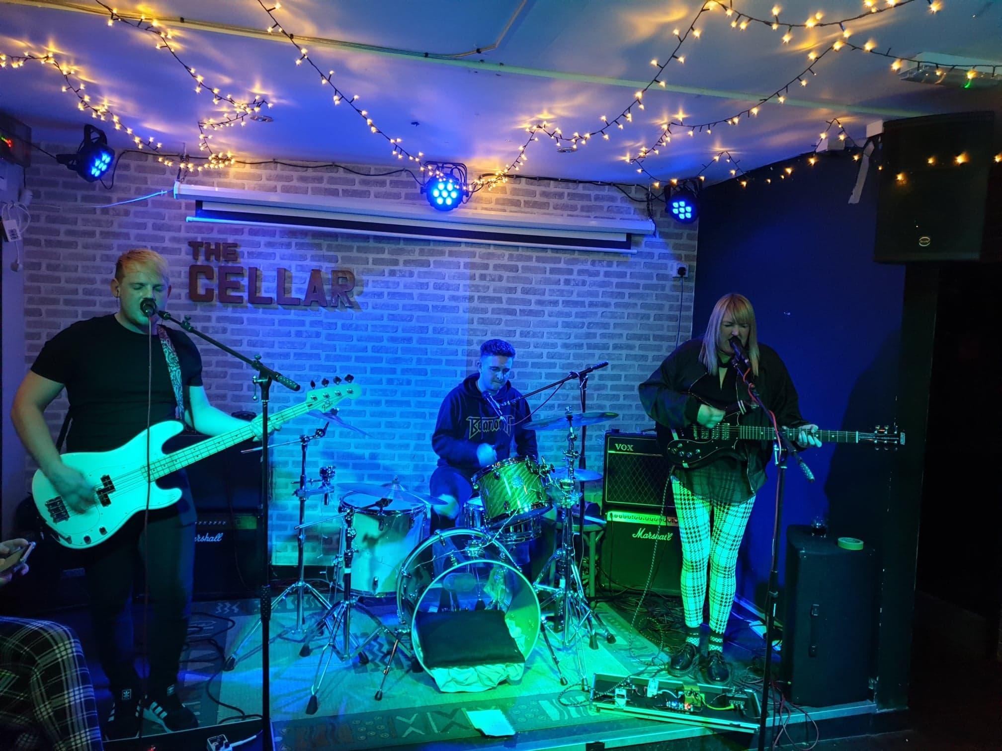 Primes performing at The Cellar