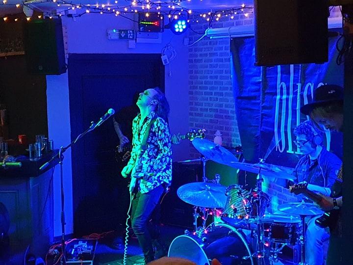 bliss performing at The Cellar