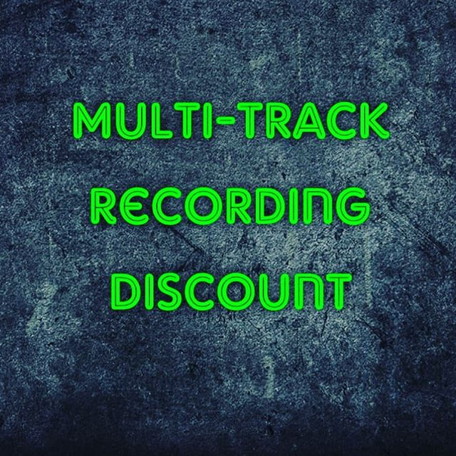 Looking to fill up the 14th and 24th July with bookings. Head on over to our Facebook page for more details. #drange #drangestudio #discount #recording #aberdeen