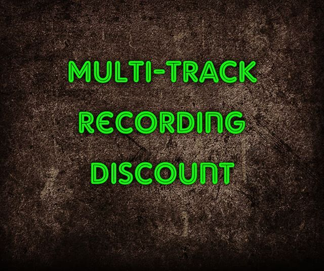 Looking to fill up 2 dates this month with recording. We are offering 12 hours recording for only £210 (Saving £150) on the 11th and 17th August.  Get in touch if you would like to take advantage of this discounted offer #drange #drangestudio #discount #recording #recordingstudio #Aberdeen #Scotland #northeast