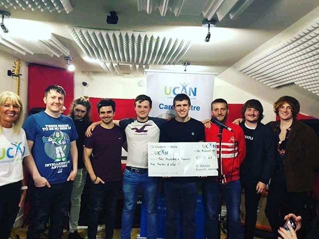 We had an amazing night on friday at our acoustic night for UCAN. Massive thanks to @thecapollos @ccmatadorkings and @therupturedducklings for coming along and playing some awesome acoustic sets, to everyone who attended and to Artists Gallery for sponsoring the event. Together we raised £225.63 for UCAN. We will be looking at hosting more nights at the studio so keep an eye out. #drangestudio #drange #UCAN #charity #localmusic #acousticmusic #aberdeenmusic #Aberdeen #Scotland #CCMK #Capollos #TRD #thankyou #artistsgallery