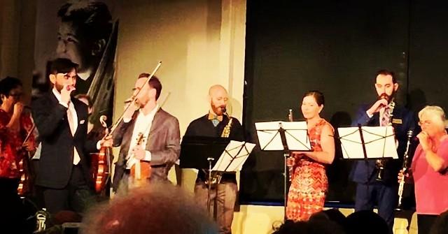 The Faculty Kazoo Ensemble is the Metropolitan Youth Symphony. Fun event!