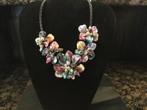 Handmade jewelry by local artist, Ellen Becker.
