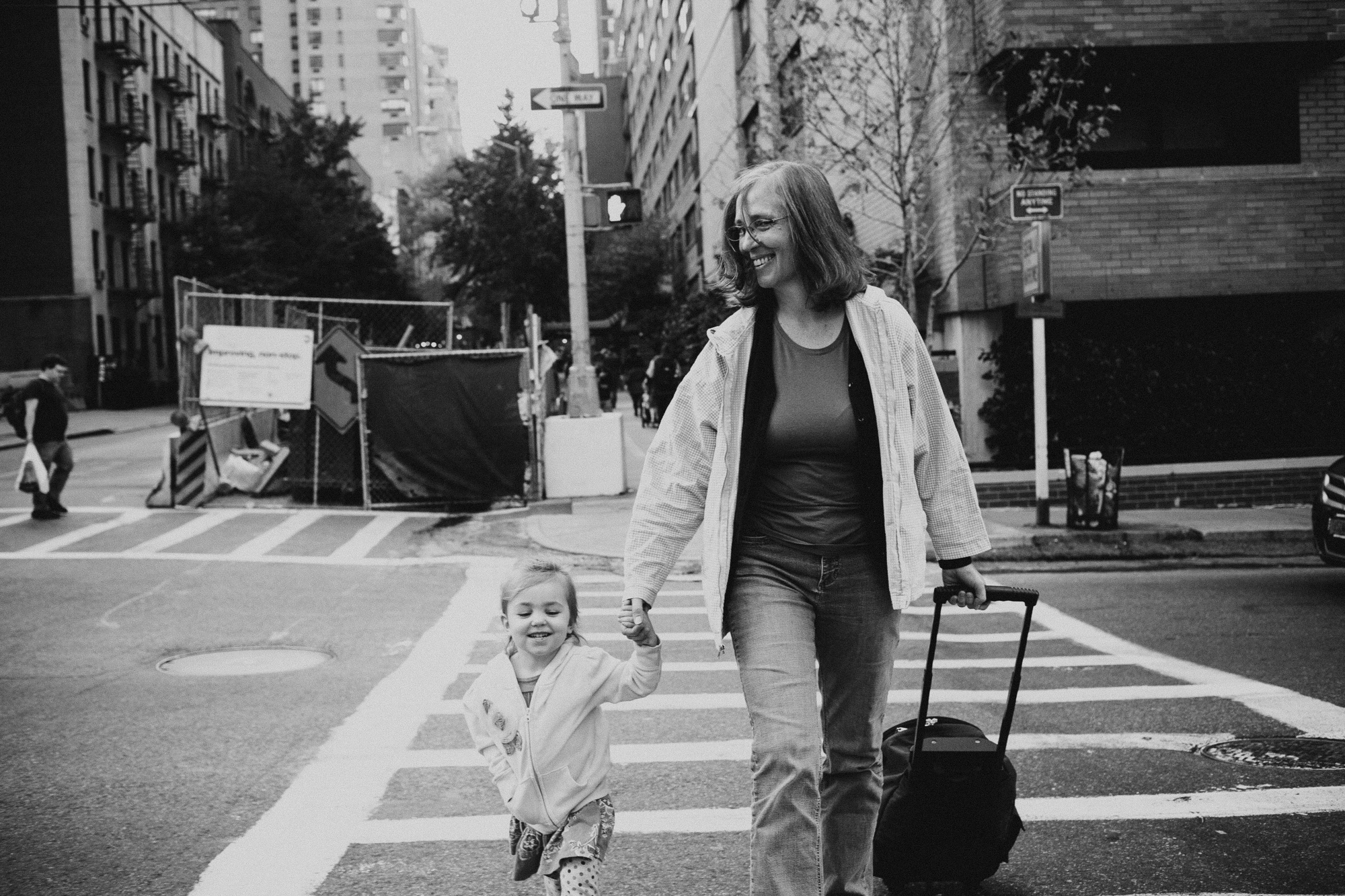 My niece Ava and Mom in NYC, 2015