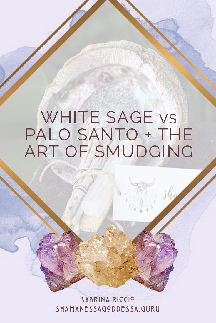 Smudging is a form of energy clearing where plant medicines are burned to purify the air and the energy of any space. As the smoke carries, it picks up on dense energy and transmutes it into energy that supports you.