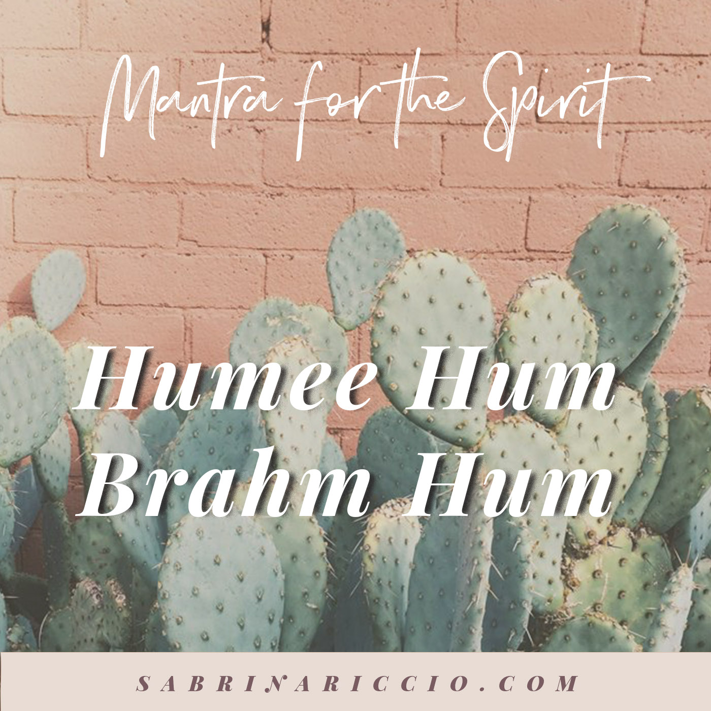 Kundalini Mantra for the Spirit   Humee Hum Brahm Hum    SabrinaRiccio.com