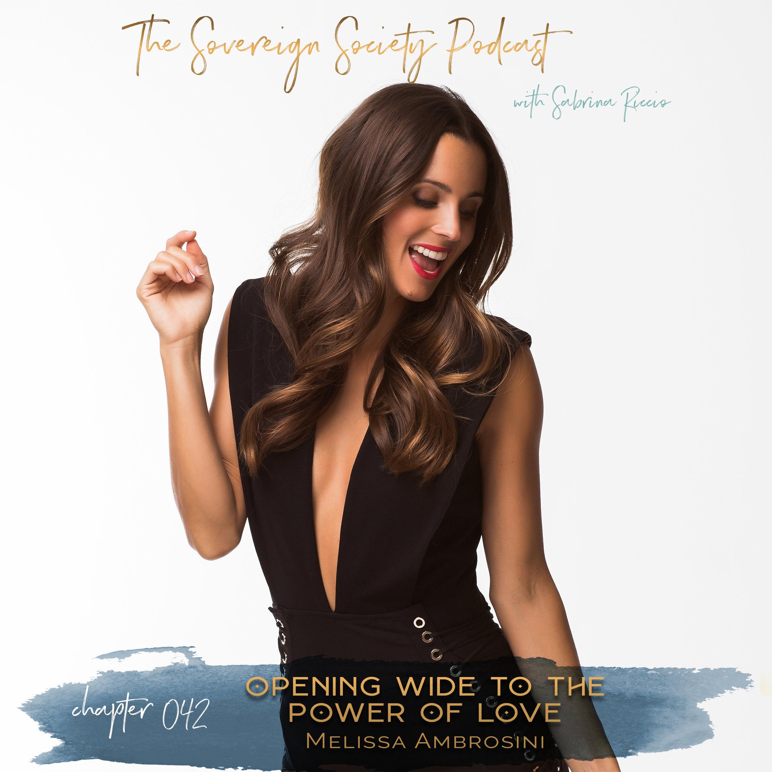 Sovereign Society Podcast Melissa Ambrosini