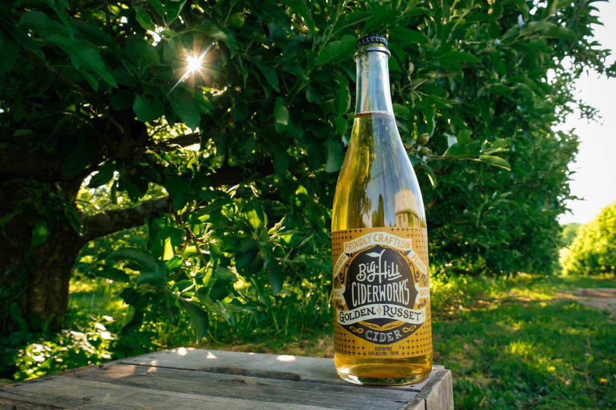 Frumpy Golden Russet apples make for a gorgeous cider at Big Hill - Philadelphia Inquirer