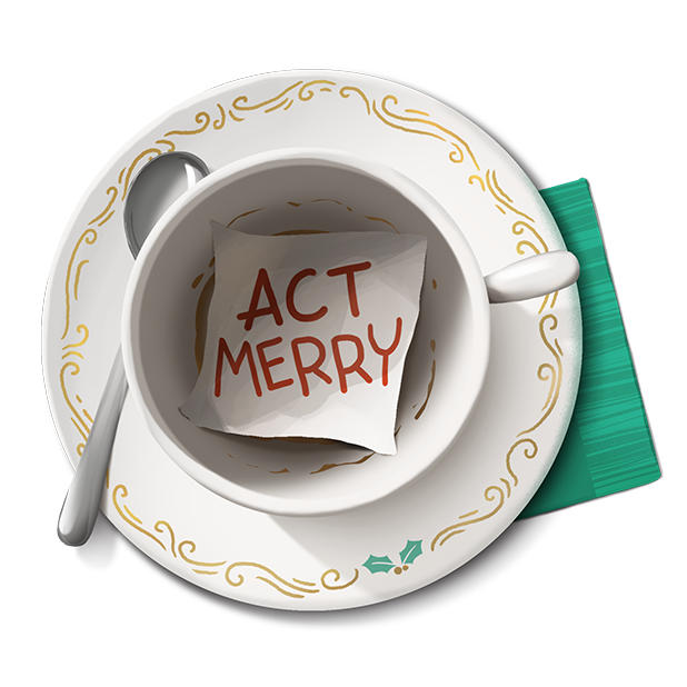 Act Merry Message