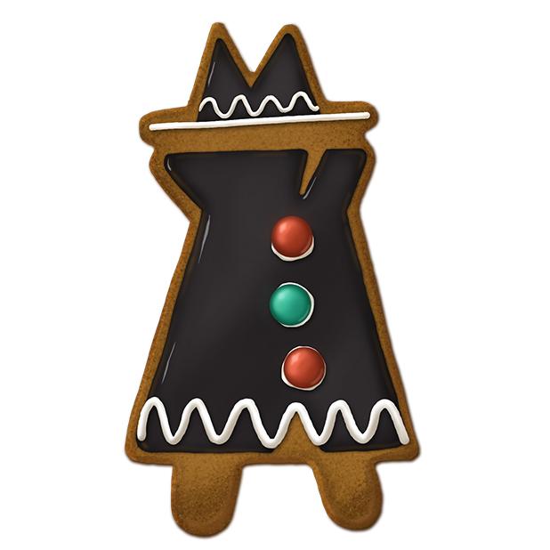 Spy Gingerbread Cookie