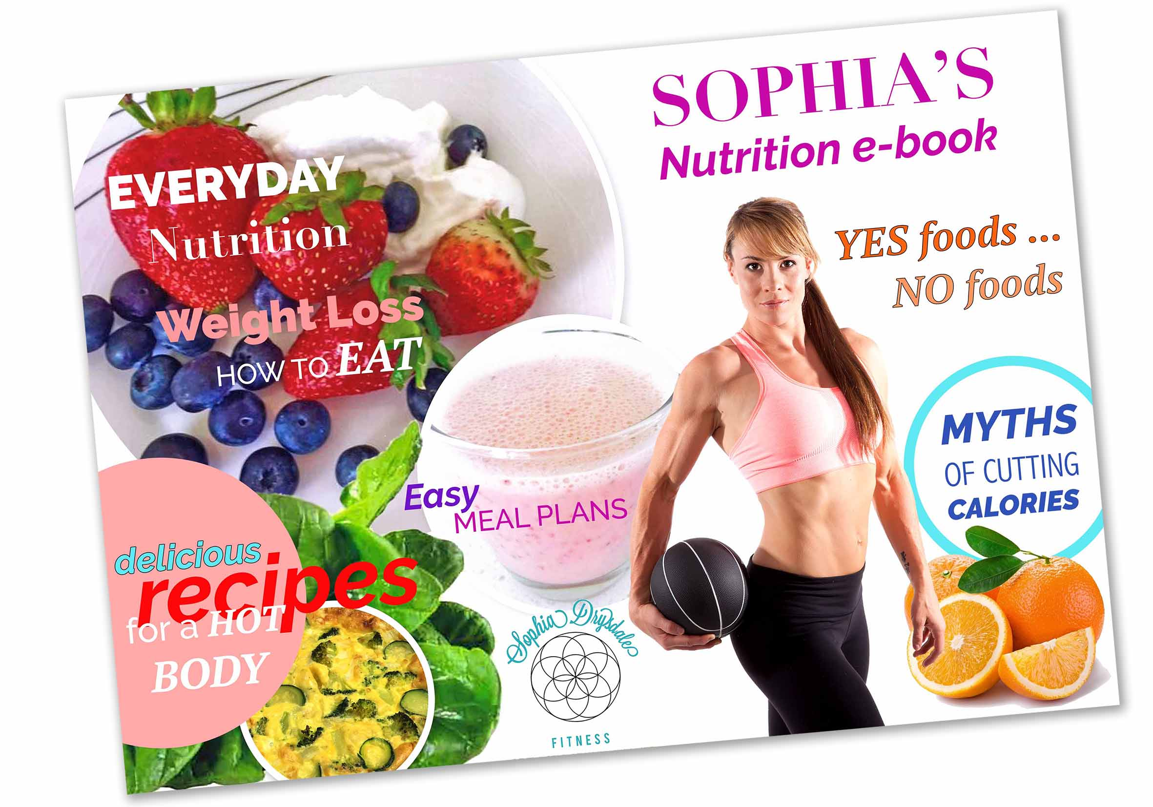 Sophia Drysdale, Nutrition e book