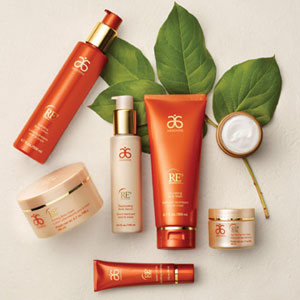 Arbonne RE9, Anti aging line. This is what I use now and I am not looking back.